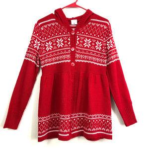 Motherhood Maternity Christmas Sweater/ Cardigan